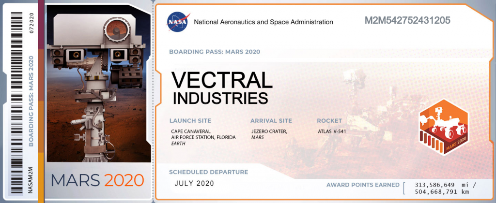 Vectral Industries sur Mars